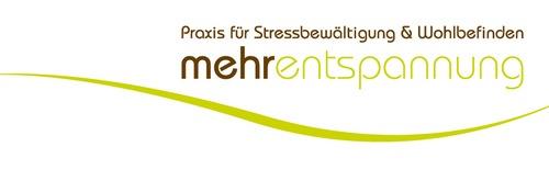 Logo mehrentspannung, Praxis für Stressbewältigung