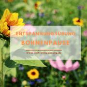 Bohnenpause-Entspannungsuebung