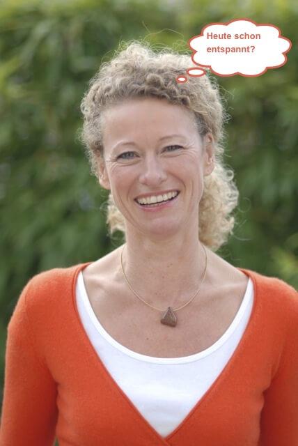 Entspannungsübung Zungenspitzenatmung von Karin Wolf