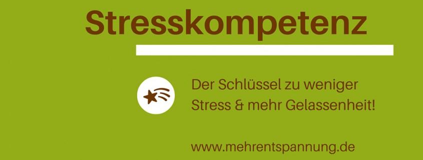 Stresskompetenz, Schlüssel zu weniger Stress & mehr Gelassenheit