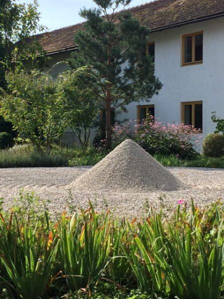Zen Kloster Eisenbuch-Innenhof