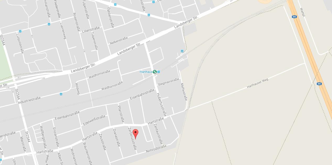 Stadtplan.jpg-Anfahrt-Praxis-für-Stressbewältigung München-Germering