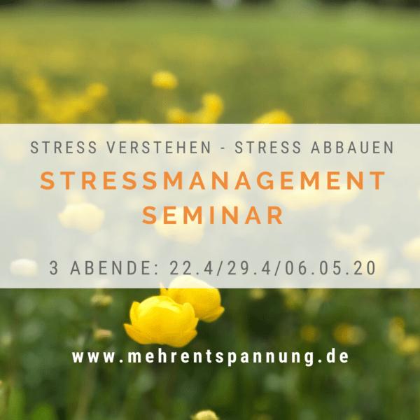 Stressmanagement-Seminar