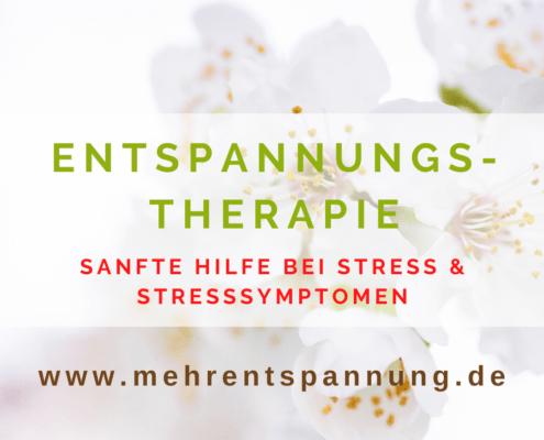 Entspannungstherapie München, Germering & online