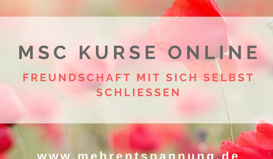 MSC online Kurse (LOMSC) - Selbstmitgefühl online