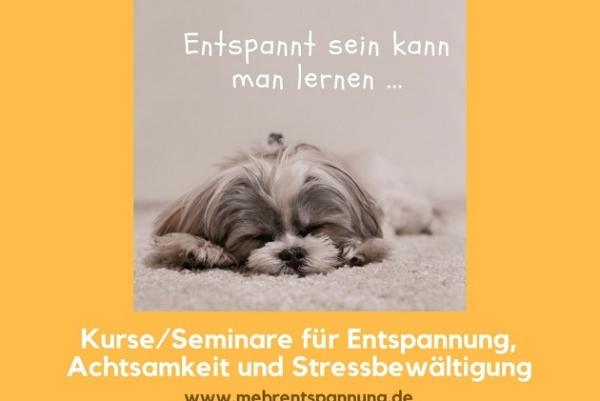 Kurse & Seminare für Entspannung
