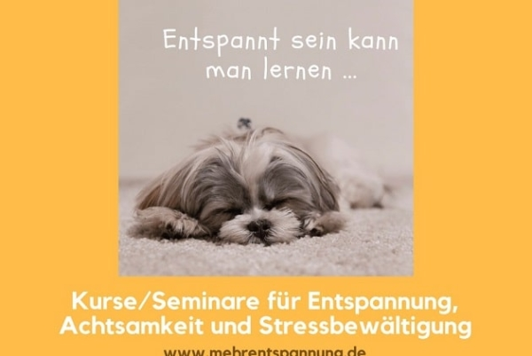 Kurse und Seminare für Entspannung