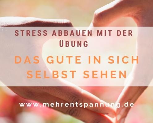 Stress abbauen Übung